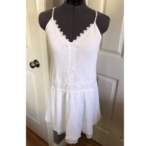 LC Lauren Conrad White Dress - Small